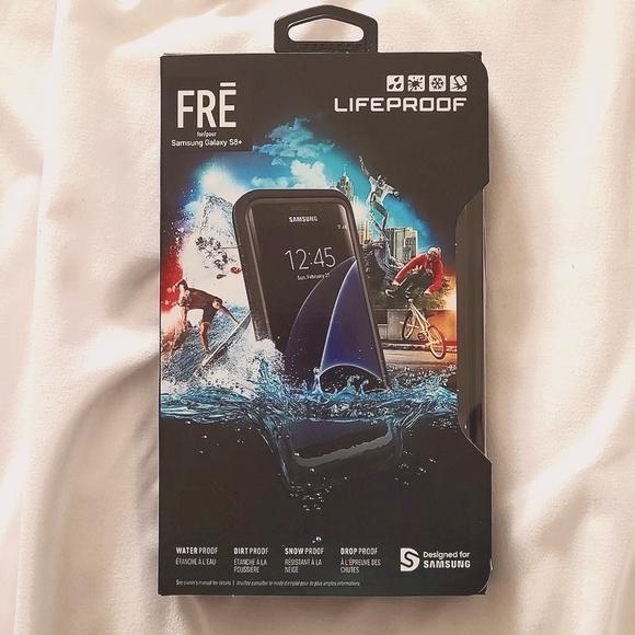 Samsung galaxy s8+ Lifeproof case black